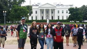 Nixon-Smiley Middle School Students Explore Washington DC