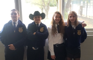 Nixon-Smiley FFA Rocks LDE Contest!