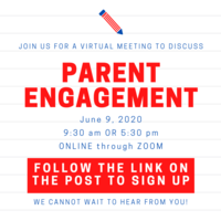 Parent and Family Engagement Meeting