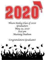 Graduation Ceremony May 29th