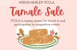 Tamale Sale by NS FCCLA