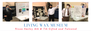 Gifted and Talented Students Host a Wax Museum